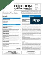 Boletín Oficial de la República Argentina, Número 33.421. 19 de julio de 2016