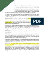 Eternal Gardens Memorial Park Corp. vs. Philippine American Life Insurance Company