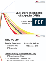 Aceu 2012 Multistore Ecommerce With Apache Ofbiz