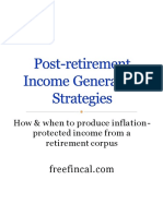 Post Retirement Income Strategies