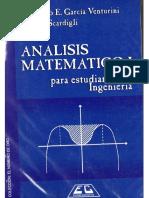 Análisis Matemático I Para Estudiantes de Ingeniería - Venturini y Scardigli