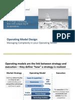 WP&C Operating Model