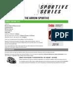 Arrow 2016 Preinfo