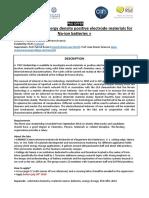 PhD offer,Batteries,France