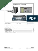 PRO1 02E Training Units and Addressing