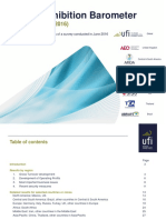 UFI  Global Exhibition Barometer report