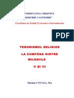 Terorismul Religios La Cumpana Dintre Mi