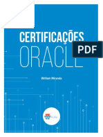 Certificações Oracle - William Miranda