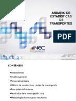 Presentacion Principales Resultados Transporte2014