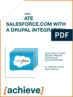 Drupal Sales force Integration