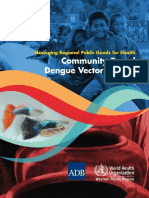 Community Based Dengue Vector Control
