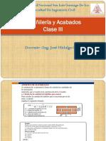 Albañileria y Acabados ( III Clase UNICA) (1)