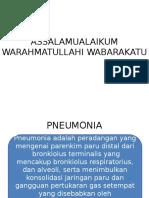 Makalah Pneumonia