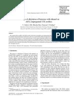 Articulo de Alquilación con etanol