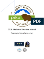 Volunteer Manual 2016