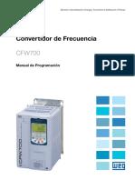 WEG Cfw700 Manual