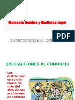 Elemento Hombre y Medicina Legal6 Distracciones al conducir