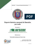 Reporte Histórico Mensual de Llamadas Por Nodo