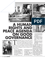 Hr and Peace Agenda