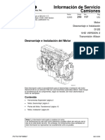 210 117 MotorDesmontajeeInstalaciónD12D PV776 TSP188847