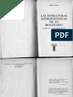 Durand. Las Estructuras Antropologicas de Lo Imaginario