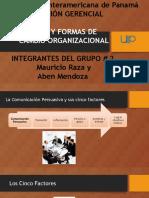 TIPOS Y FORMAS DE CAMBIO ORGANIZACIONAL