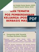 PPT KKN POSDAYA BERBASIS MASJID.pptx