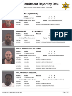 Peoria County Jail Booking Sheet for July 19, 2016