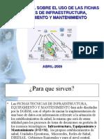 Guia General Fichas Tecnicas de Infraestructura, Equipamiento y Mantenimiento