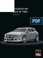 Mercedes GLA 2015 Brochure