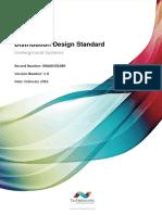 Distribution Design Standard - Underground System