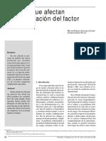 Variables Que Afectan El Factor de Rueda. Jaramillo-Areiza