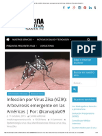 Infección Por Virus Zika (VZIK)_ Arbovirosis Emergente en Las Américas _ Medicina Preventiva Santa Fe