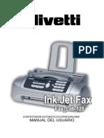 Olivetti Fax-Lab 128. Tutorial