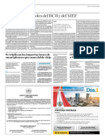 2017-2021, Los Roles Del BCR y Del MEF