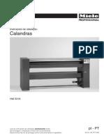 Calandra Miéle HM 5316 (Manual de Intruções)