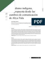 CIESPAL - Chasqui 120 - Periodismo Indígena, Una Propuesta Desde Las Cumbres de Comunicación de Abya Yala