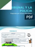 El Tribunal y La Policia