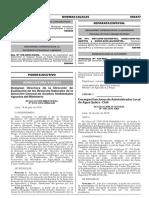 NORMAS LEGALES DE AGRICULTURA Y RIEGO