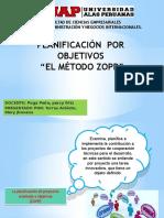 """Planificación Por Objetivos  """"el método zopp"""""""