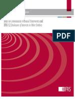 IFRS1012_ConsolidatedFinStatementsDisclosure_UpdatedJanuary2012