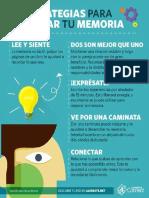 5 estrategias para mejorar tu memoria.