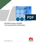 HUAWEI USG6300 Series Next-Generation Firewall Datasheet