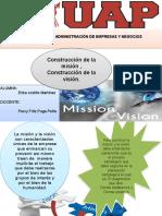 construcción de la misión y visión