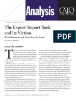The Export-Import Bank and Its Victims
