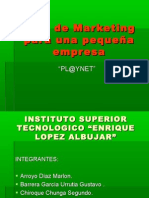Plan de Marketing para una pequeña empresa