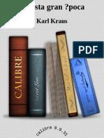 Kraus_Karl-En Esta Gran Epoca-periodismo Liberal Guerra
