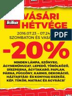 akciosujsag.hu - Kika, 2016.07.20-08.02