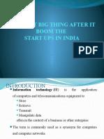 IT Boom_Statups in India