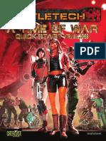 BattleTech a Time of War Quick-Start Rules (7249974)